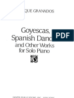 Granados - Goyescas, Spanish Dances and Other Works for Solo Piano