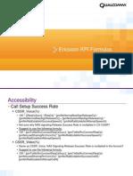 Ericsson KPI Formulas Review