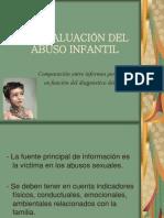La evaluación del abuso infantil