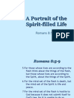 Spirit Filled Portrait Romans