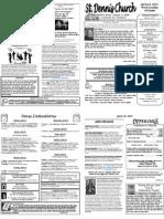 April 22 Bulletin