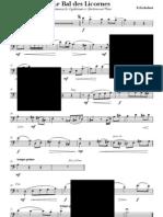 Le Bal Des Licornes_euphonium & Piano - Euphonium_preview