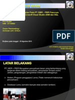 Presentasi Laporan Praktek Kerja Lapangan