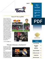 Boletin Palco Liga BBVA 7ª Edicion IMPRIMIR