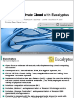 Building a Private Cloud With Eucalyptus E-Science2009 Folien 9.12.2009 v1.1
