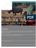 Safari Planning Guide