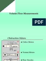 Vol Flow Measurements