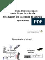 Aplicaciones a La Electronic A de Potencia