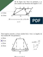 Geometria Plana - Exercícios