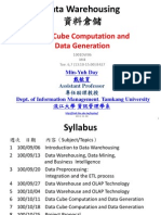 Data Cube Computation and Data Generation