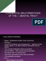 Congenital Malform
