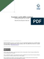 Tecnologia e gestão pública municipal - mensuração da interação com a sociedade
