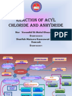 Reaction of Acyl Chloride and Anhydride