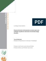 Desenvolvimento de ferramenta de cálculo para uma avaliação expedita de estruturas de alvenaria antiga de pedra (versão original)