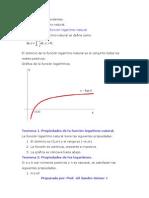 Tema I. Funciones Trascendentes