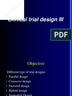Clinical Trial Design 3