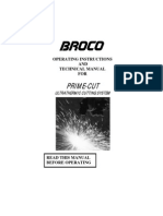 Manual Broco en inglés