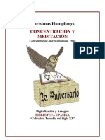 50486743 Humphreys Christmas Concentracion y Meditacion