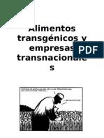 Transgenicos Ejemplo de Proyecto