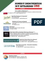Promociones y Descuentos Afiliados y Afiliadas Marzo 2012 (1)