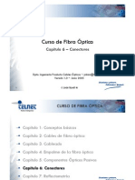 Curso de Fibra Óptica - Capítulo 6-Conectores