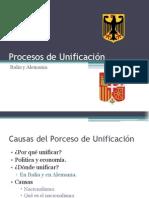 Procesos de Unificación