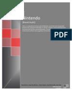 Brand Audit Nintendo