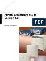 HiPath 3000 System Description