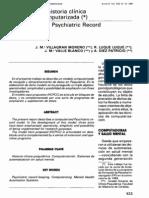 06 Un Modelo de Historia Clinica Psiquiatrica Computarizada
