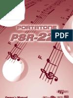 PSR225E