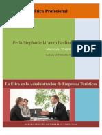 Etica Profesional en La Admin is Trac Ion de Empresas Turisticas