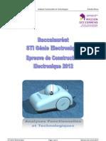 Activités M1 - Analyses Fonctionnelles et Technologiques