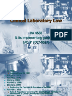 85276699 Clinical Laboratory Law
