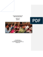 Instructional Design Report