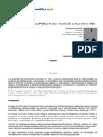 Psicologiapdf 147 Psicologia Com Unit Aria y Politicas Sociales Analisis de Su Desarrollo en Chile
