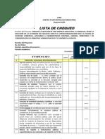 Lista de Chequeo CyF PRIMER TRIMESTRE Propuesta Por Ana Stella