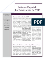 Informe Especial Estatizacion de YPF - RED IMPACTO