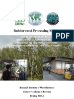 Rubber Wood Processing Manual