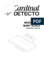 Detecto-8440 User Manual