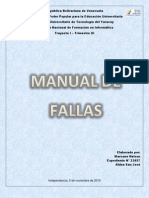 Manual de Fallas (Nelson Marcano)