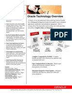 Oracle Technology Overview