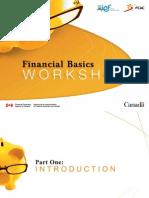 3 Financial Basics Presentation Deck