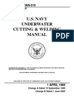 2002. U.S. Navy Underwater Cutting and Welding Manual