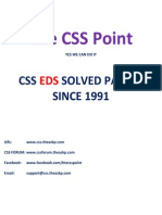 EDS Solved Paper