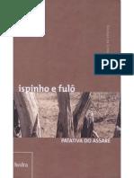 ispinho e fulô - Patativa