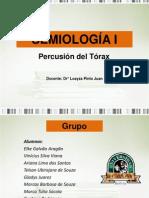 Semiologia i Percusion Del Torax