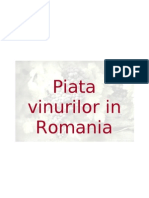 Analiza Pietei Vinurilor in Romania