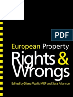 European Property Rights and Wrongs