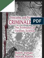 Principles and Practice of Criminal is Tics