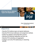 IPv6 Part2 Addr Types